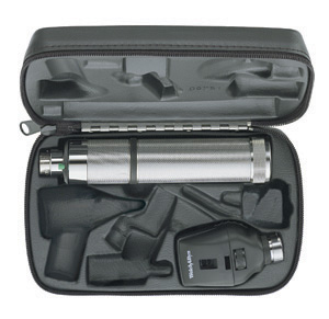 Welch Allyn Professional Ophthalmoscope Set Hard Case