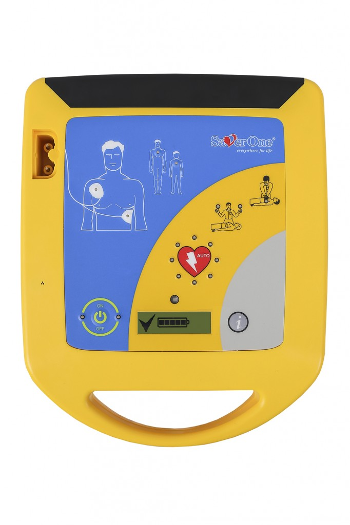Saver One Defibrillator Fully Automatic