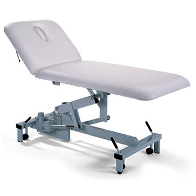 Superb Plinth 2 Section Hydraulic Examination Couch Pabps2019 Chair Design Images Pabps2019Com