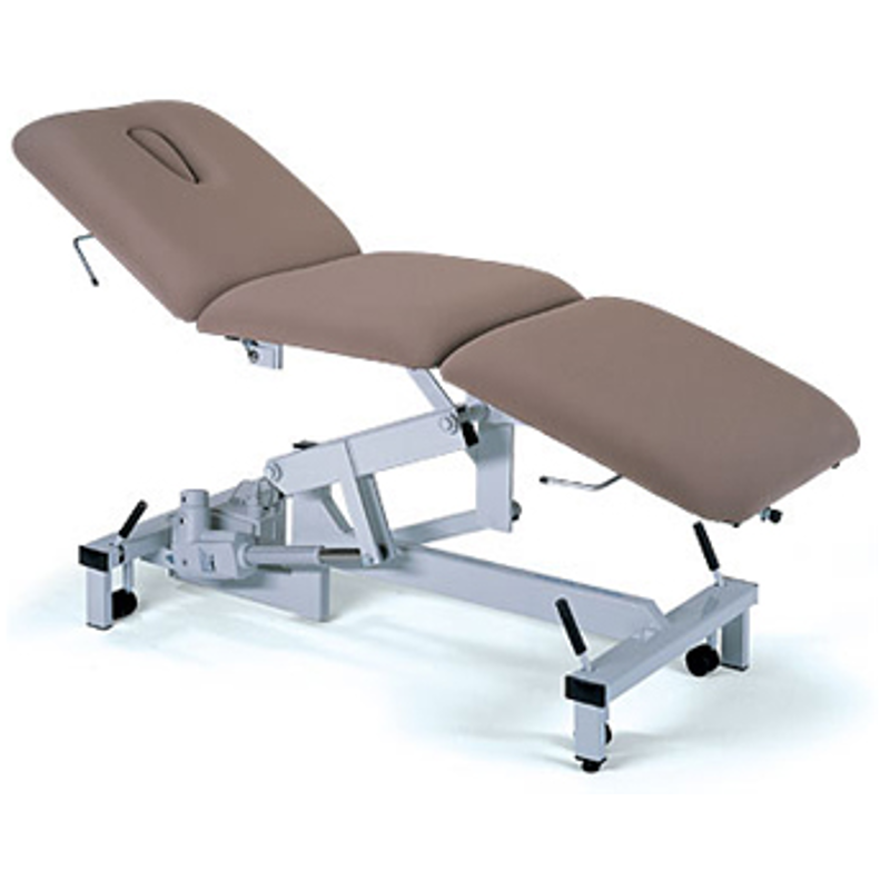 Brilliant Plinth 3 Section Hydraulic Examination Couch Pabps2019 Chair Design Images Pabps2019Com