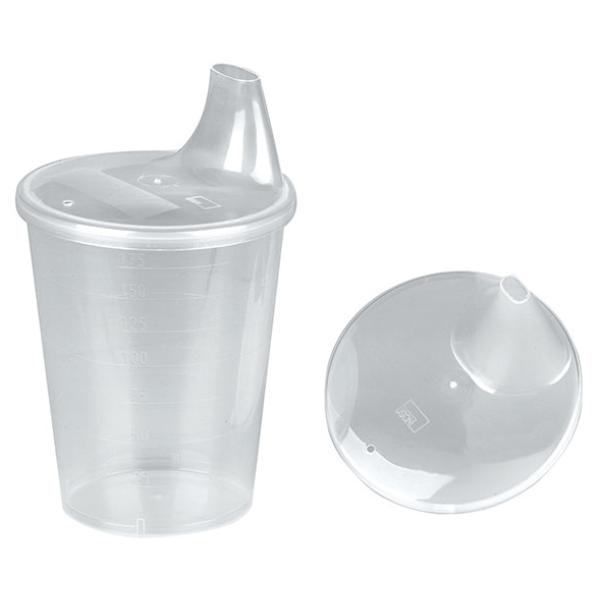 Disposable beaker lids