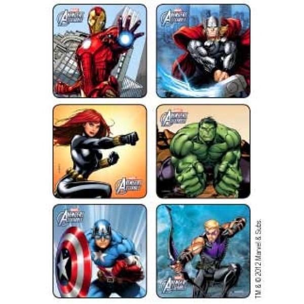 Avenger Reward Stickers