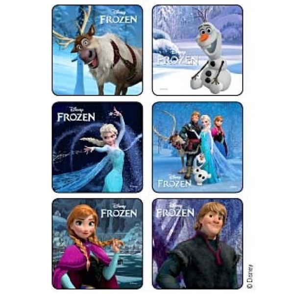 Frozen Reward Stickers