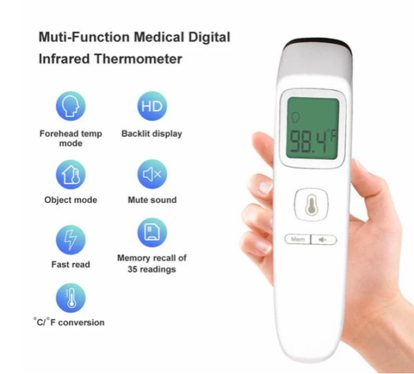 Non Contact Muti Fuctional Thermometer FC-IR200