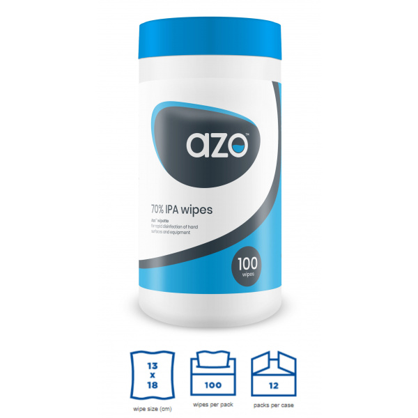 AZO ALCOHOL DISINFECTANT WIPES