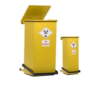 Clinical waste bin