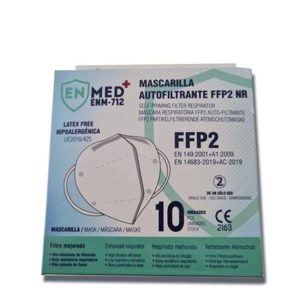 FFP2 Box of 10 Masks