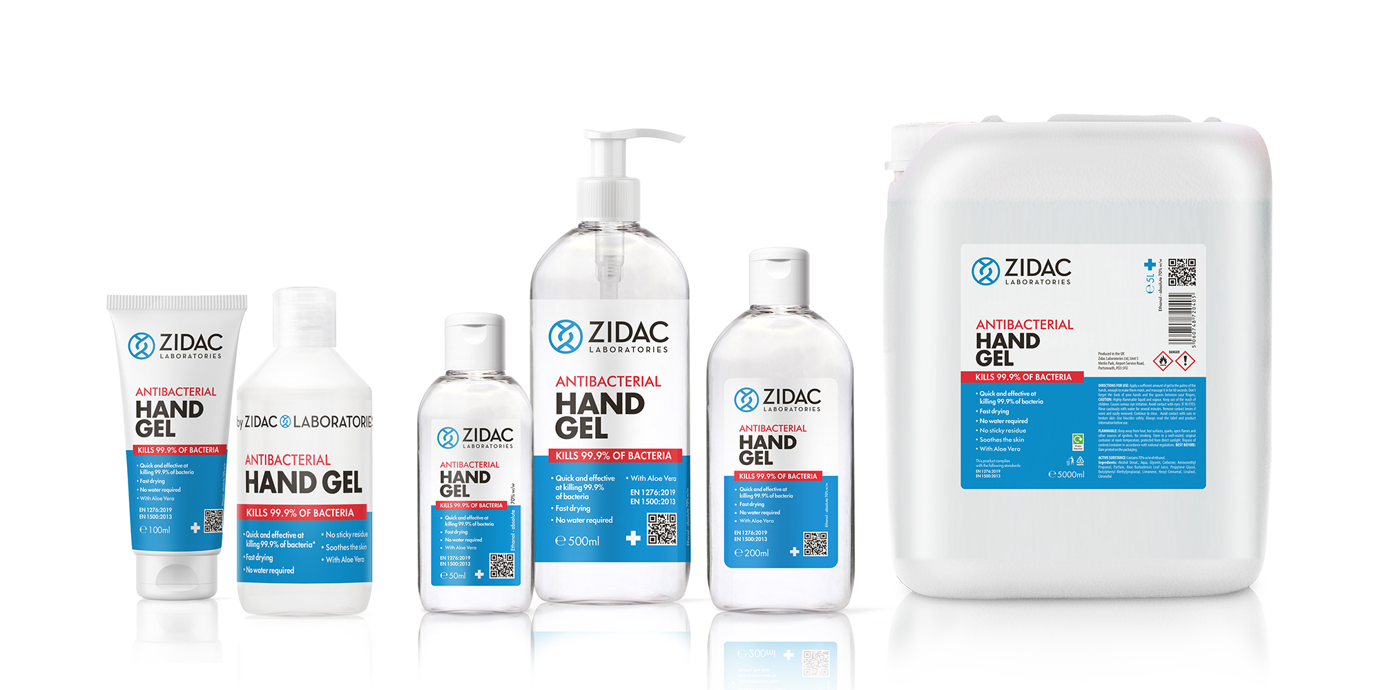 Zidac Hand Sanitisers
